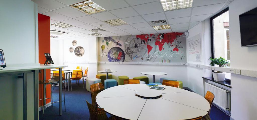 New modular space designed for mobile technology integration and project work