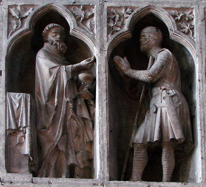 Communion du chevalier Reims by Vassil