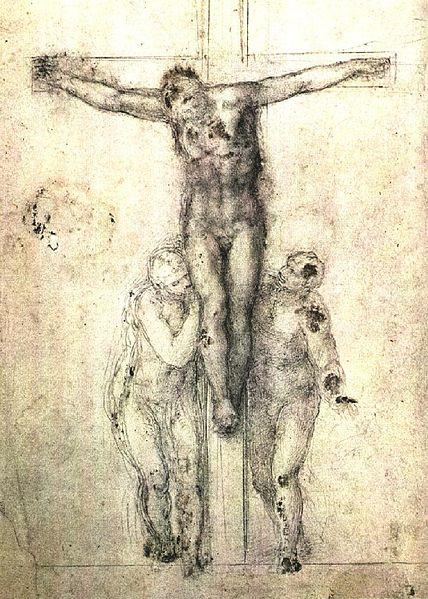 Crucifix by Michaelangelo