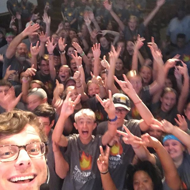 You know... the camp speaker selfie #spiritus2k18 was awesome!