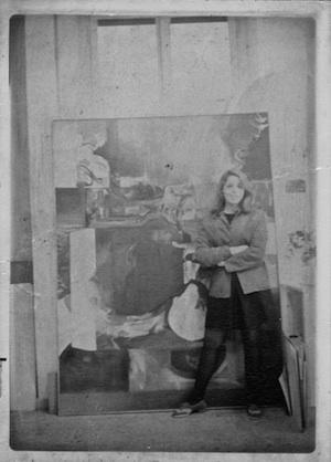 Hallie Cohen, Rome, 1968