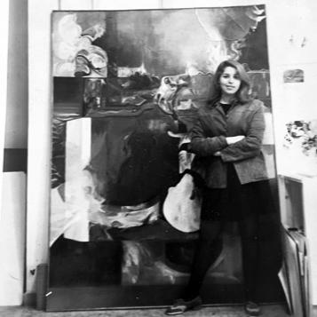 Hallie in Rome, 1968