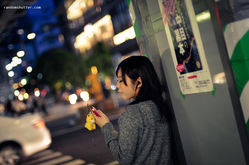 waiting & listening to music