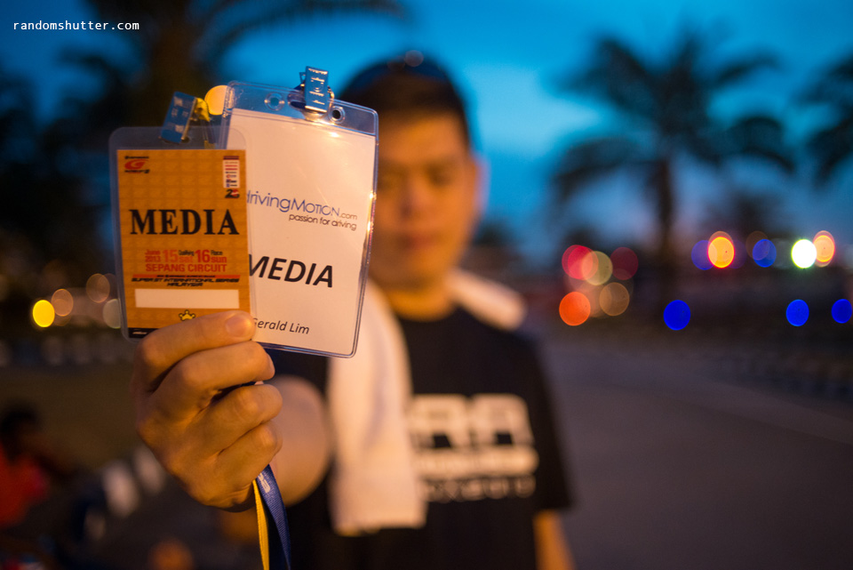 Me and my media passes