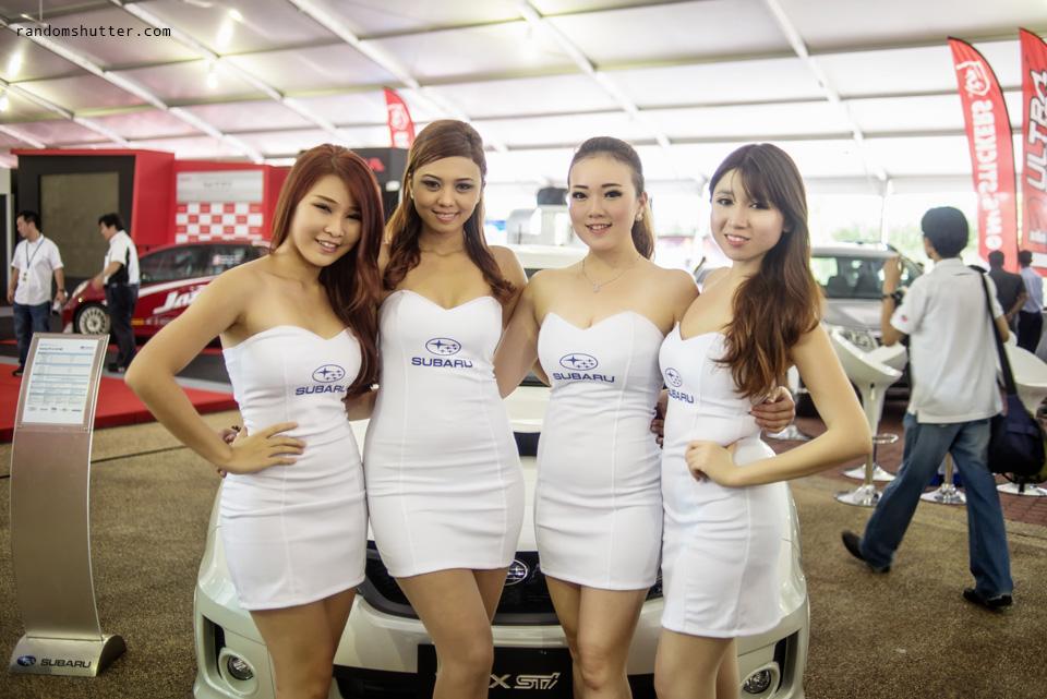 Lovelies from Subaru