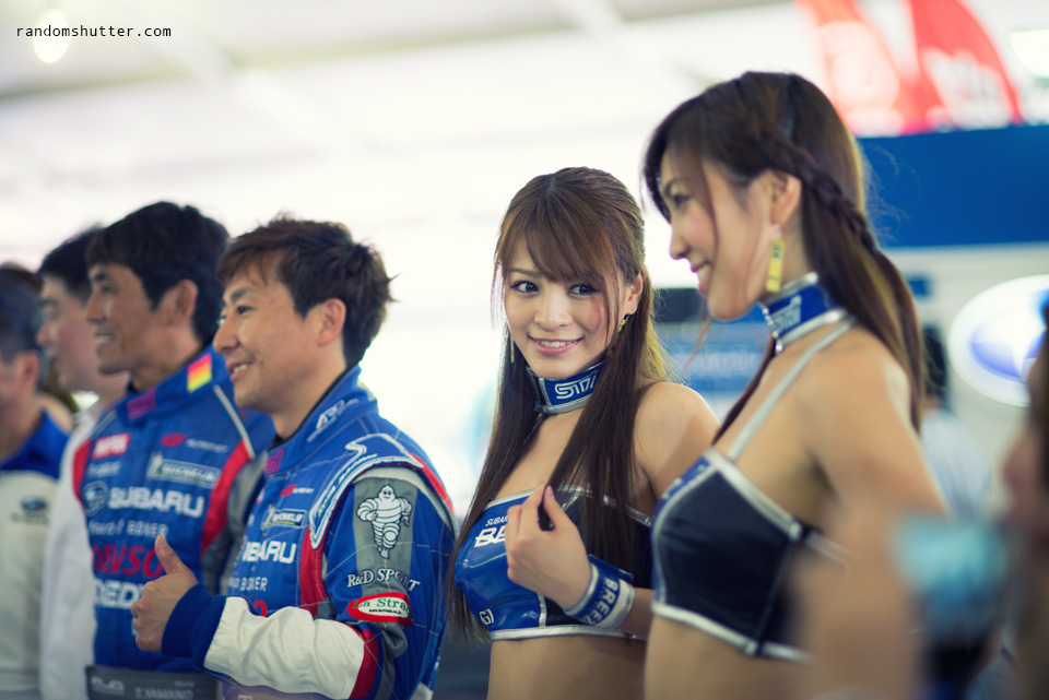 SuperGT Race Queen... so cute!