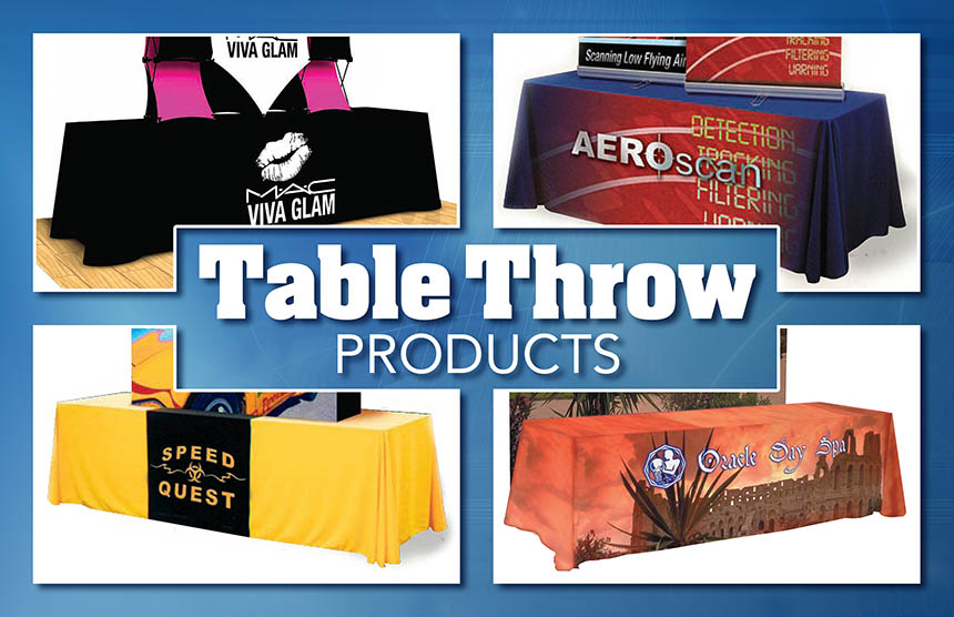 Table Logo Covers