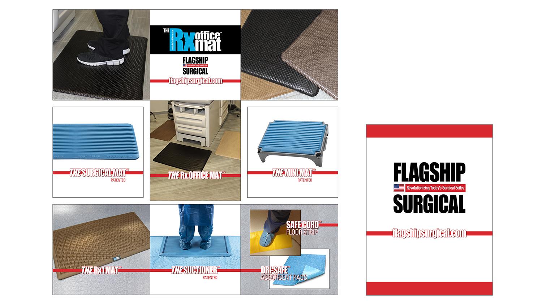 3x3 Popart Fabric & Podium Graphics