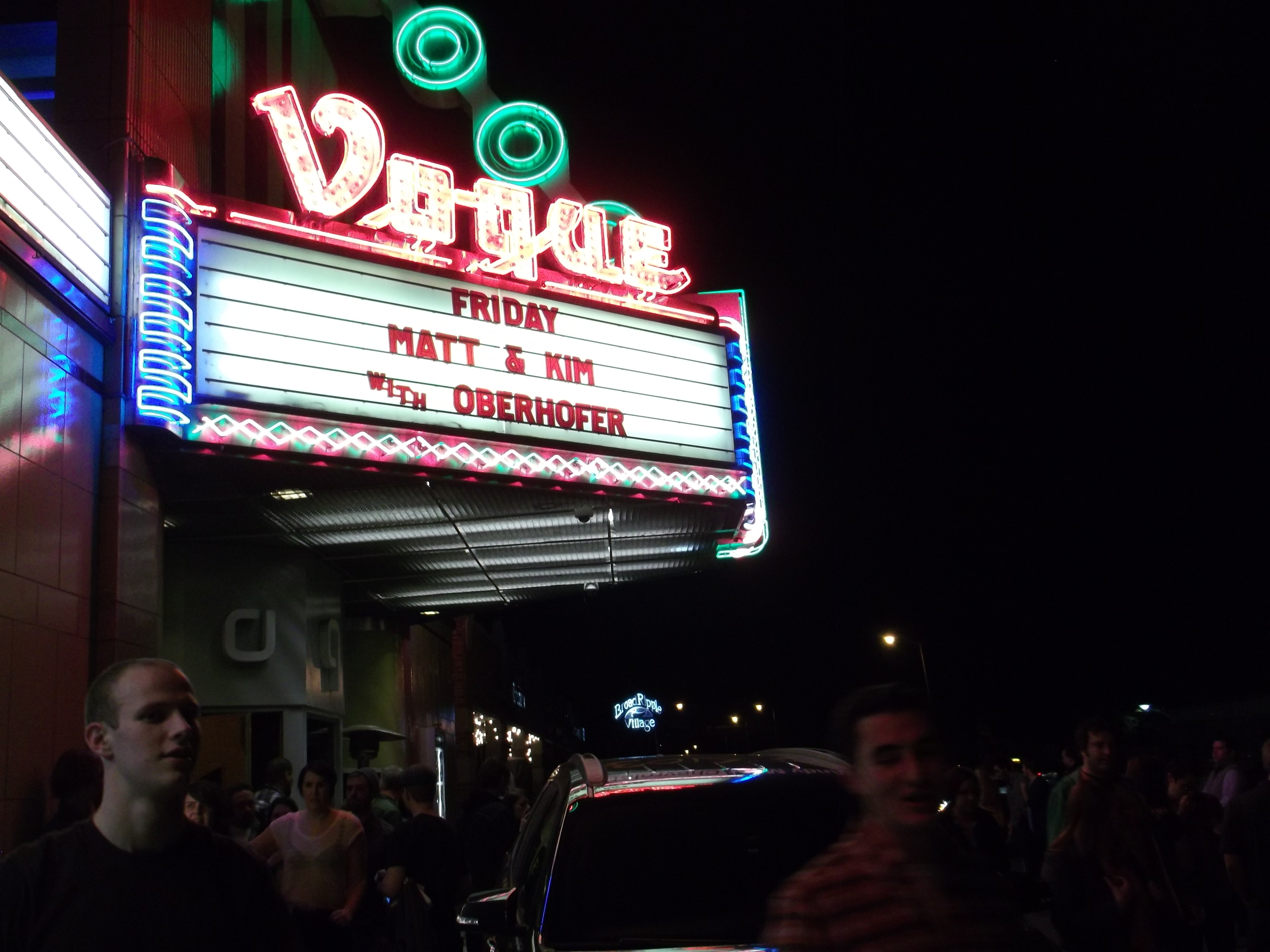 Vogue Theater in Broad Ripple