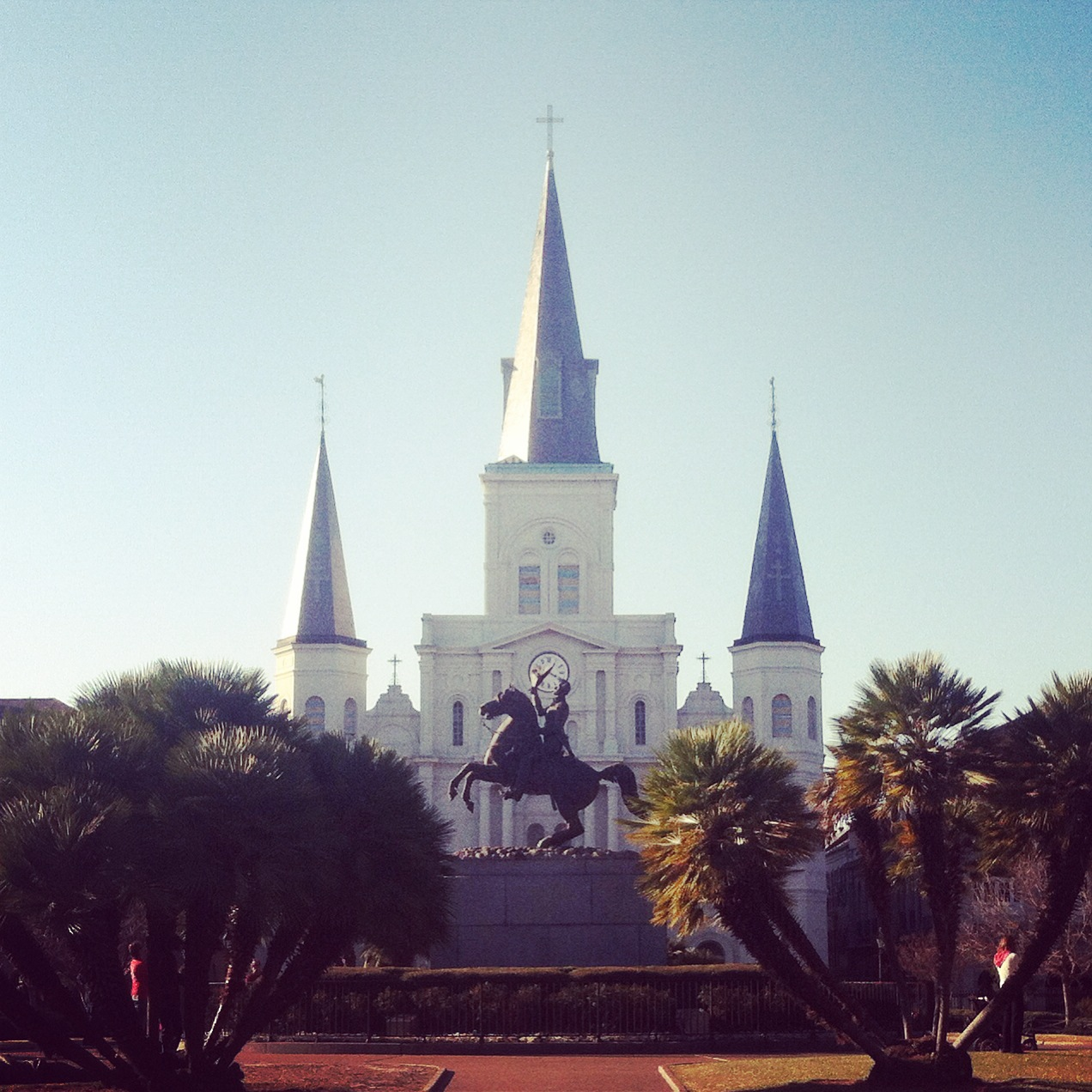 The St. Louis Cathedral at Jackson Square
