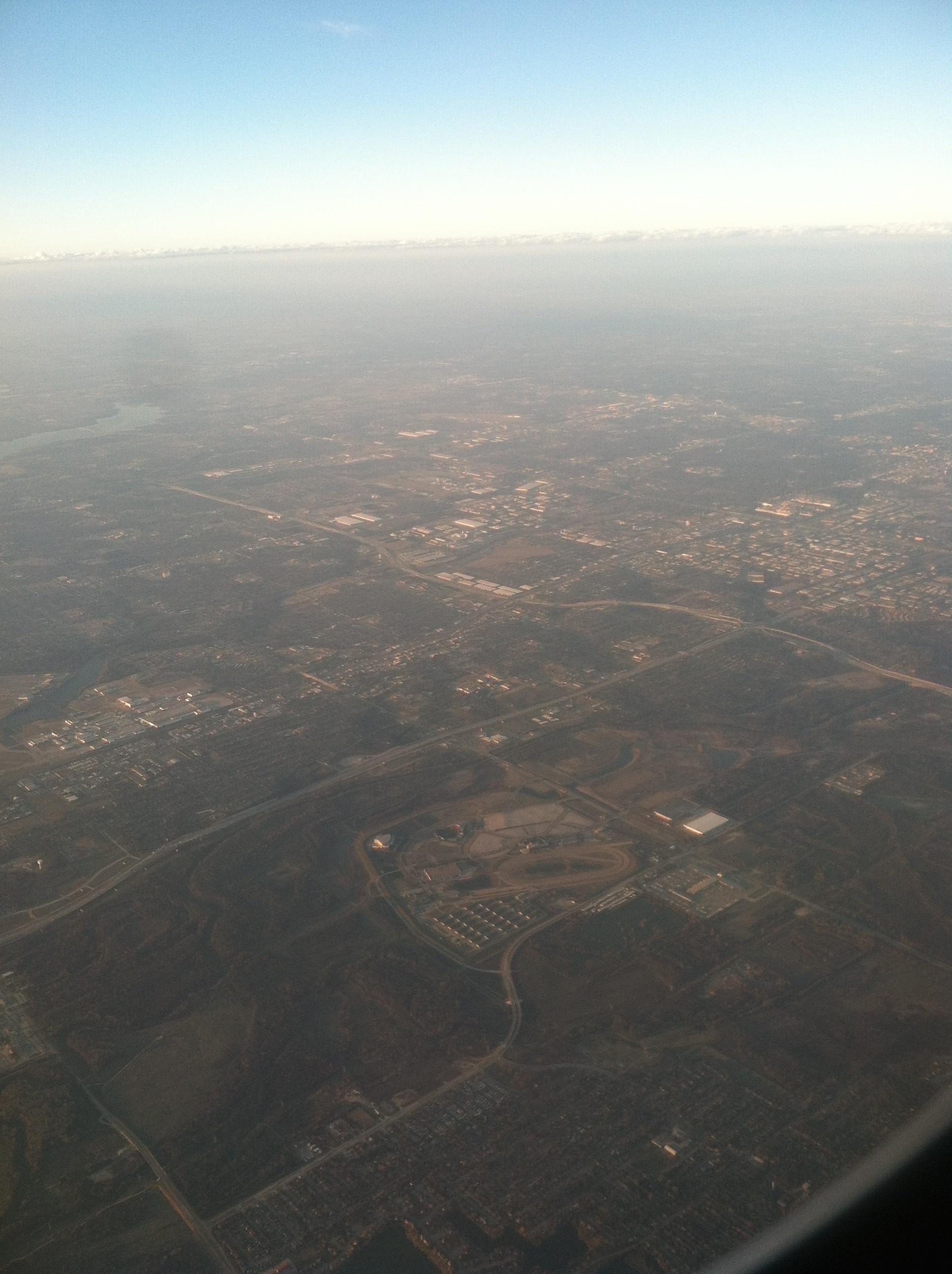 Dallas, aerial view.