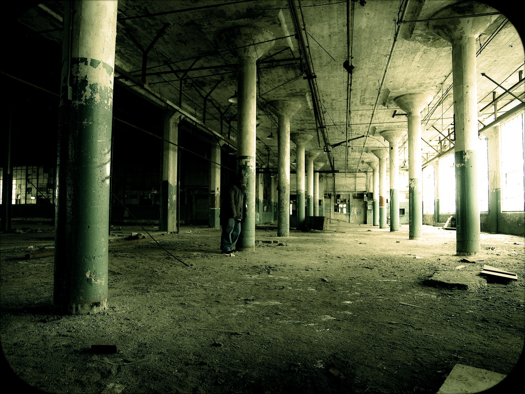 My Urbex self portrait. URL leads to the Flickr page. Probably where they stole it.