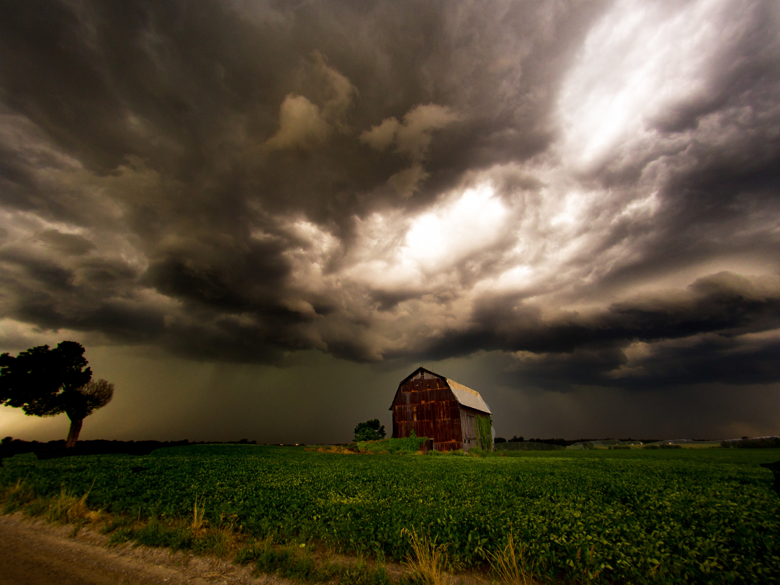 Shot during a summer storm in Eaton County