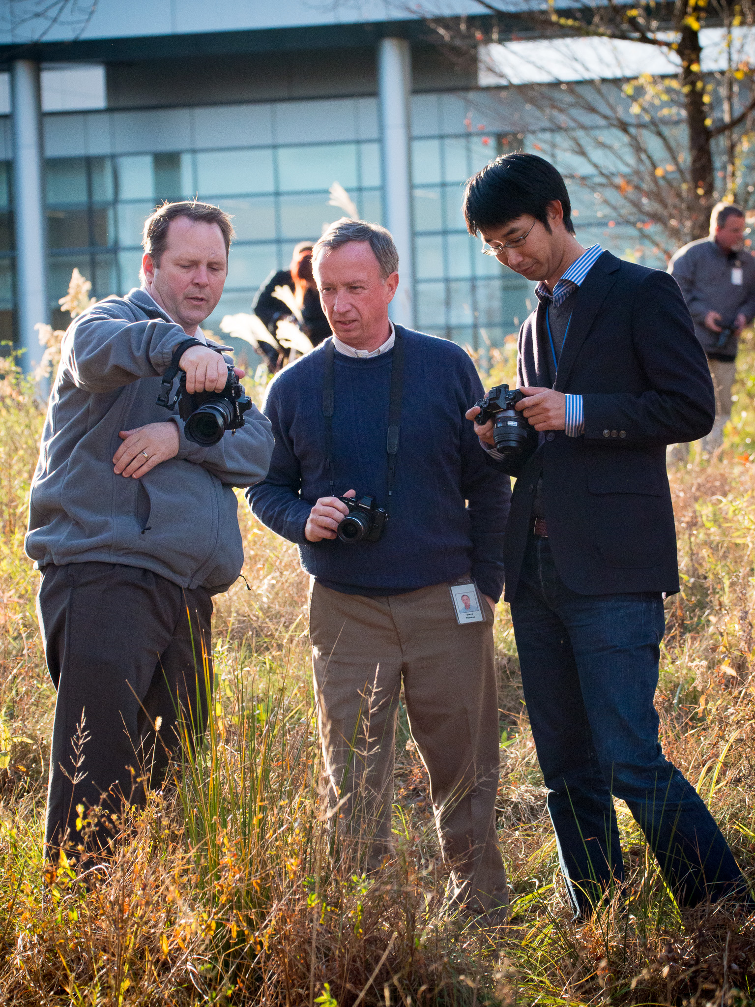 Photowalk at Olympus headquarters with Olympus employees? Incredible time! Alex McClure and Dan Kato.