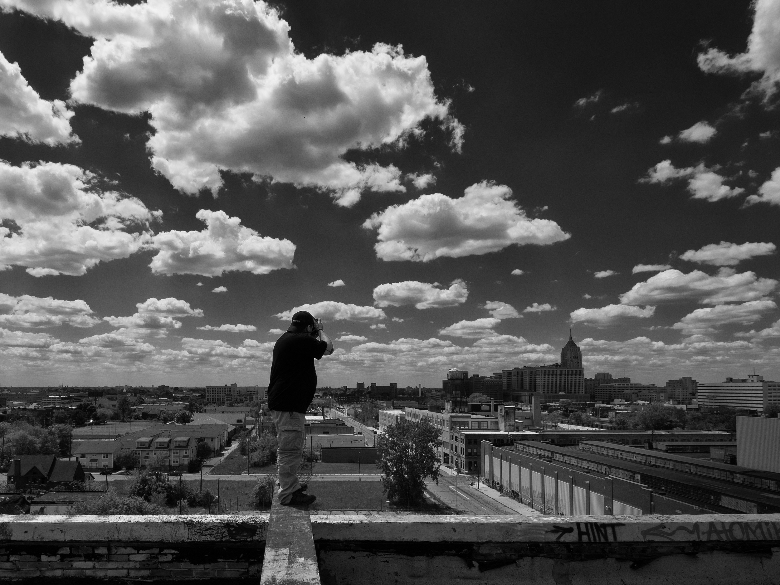 And like the other locations......Rooftop access offered some of the most incredible opportunities to photograph.