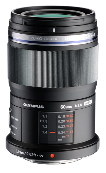 The 60mm macro comes in black only. On the left side of this image you can just make out the focus limiter switch.