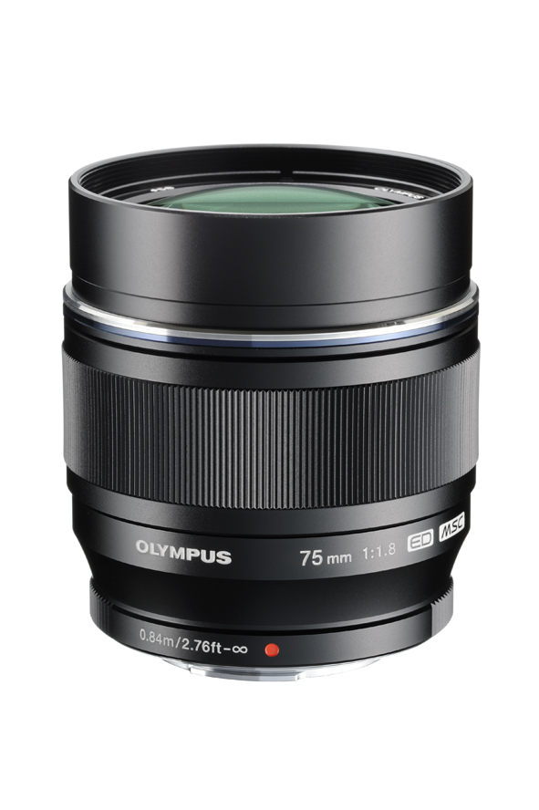 The front element on this lens will certainly catch anyone's attention. It looks like a big crystal jewel.