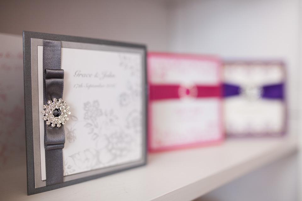 Pink Sherbet Wedding Stationery Invitations 3