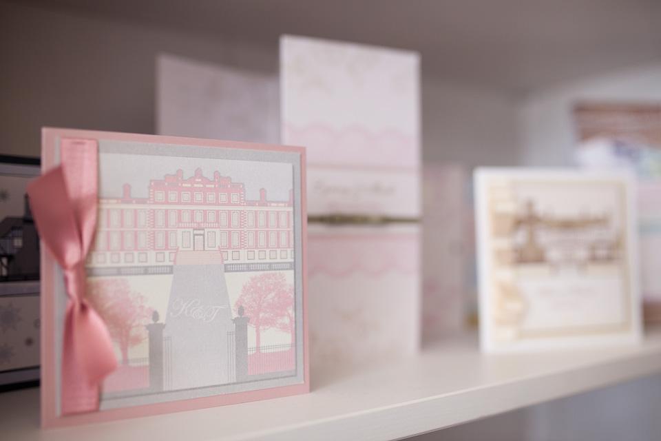 Pink Sherbet Wedding Stationery Invitations 4