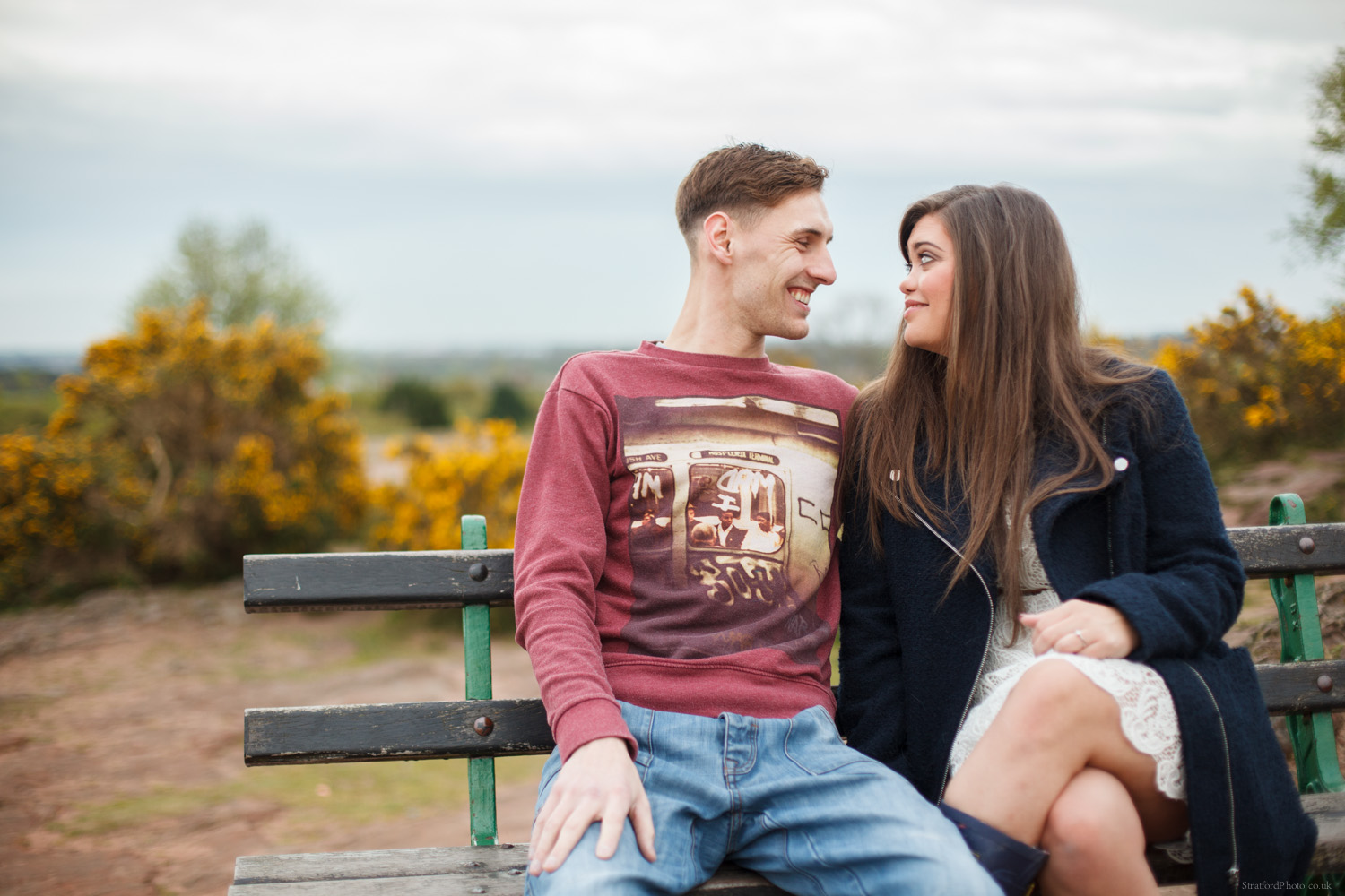 Hayley & David Beautiful Romantic Sunset Prewedding Engagement Shoot at Thurstaston on the Wirral 1.jpg
