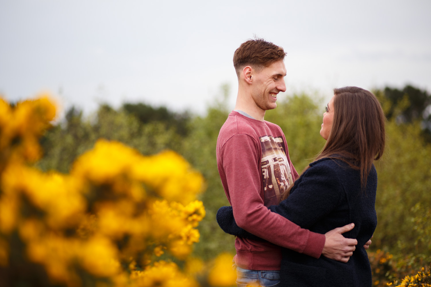 Hayley & David Beautiful Romantic Sunset Prewedding Engagement Shoot at Thurstaston on the Wirral 7.jpg