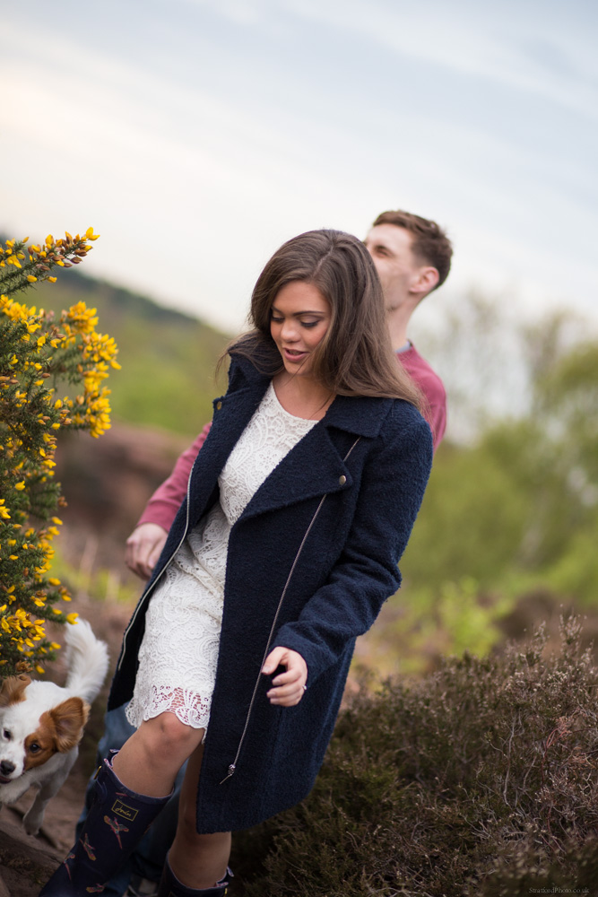 Hayley & David Beautiful Romantic Sunset Prewedding Engagement Shoot at Thurstaston on the Wirral 40.jpg
