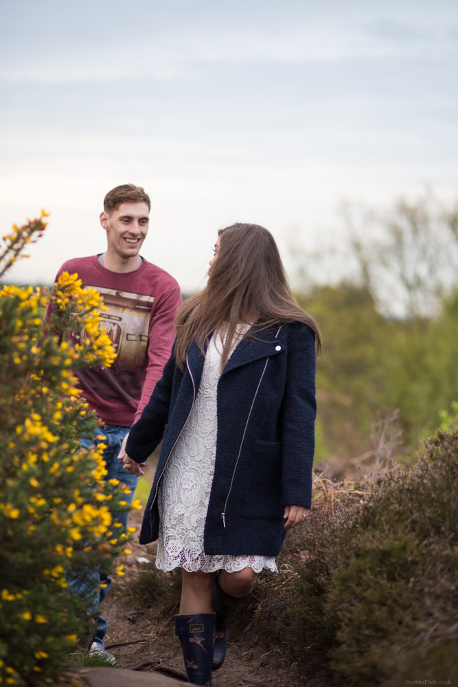 Hayley & David Beautiful Romantic Sunset Prewedding Engagement Shoot at Thurstaston on the Wirral 42.jpg