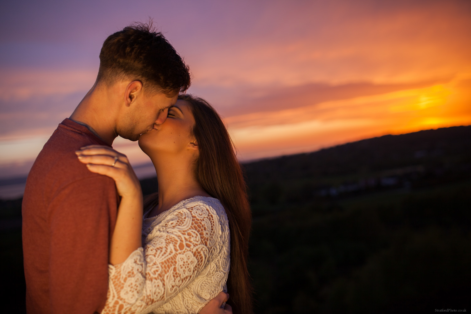 Hayley & David Beautiful Romantic Sunset Prewedding Engagement Shoot at Thurstaston on the Wirral 72.jpg