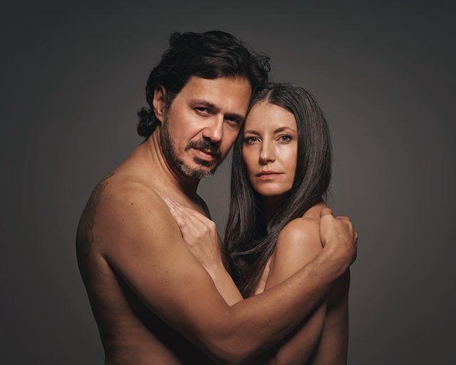 #autorretrato com @karinakulig  comemorando hoje 20 anos de casados ❤️❤️❤️ #20yearsmarried  #selfportrait #love