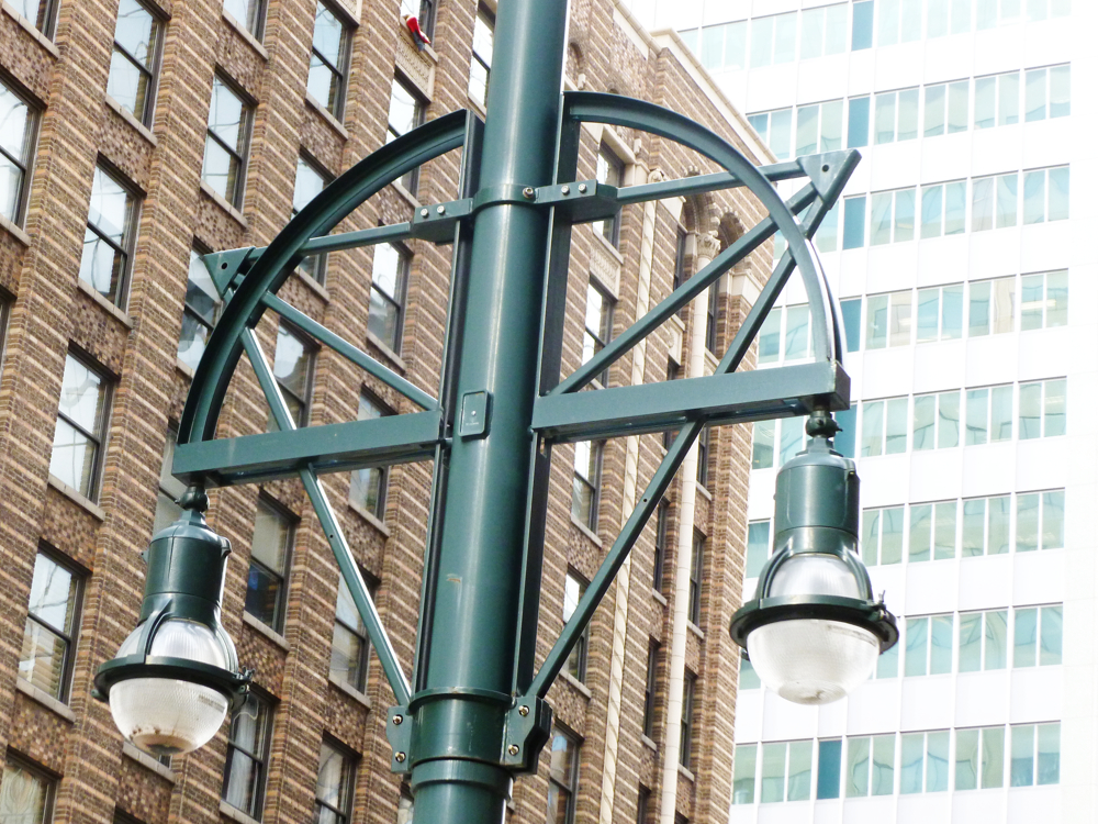 Denver's streetlamps