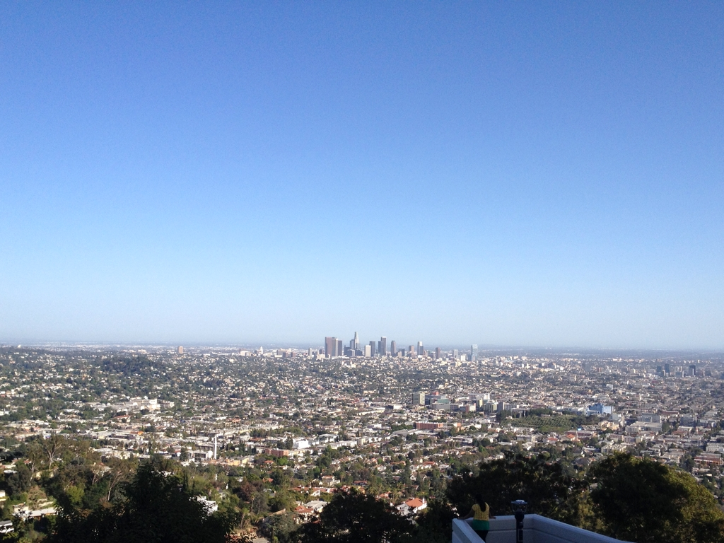 LA from the top of the Griffith Observatory