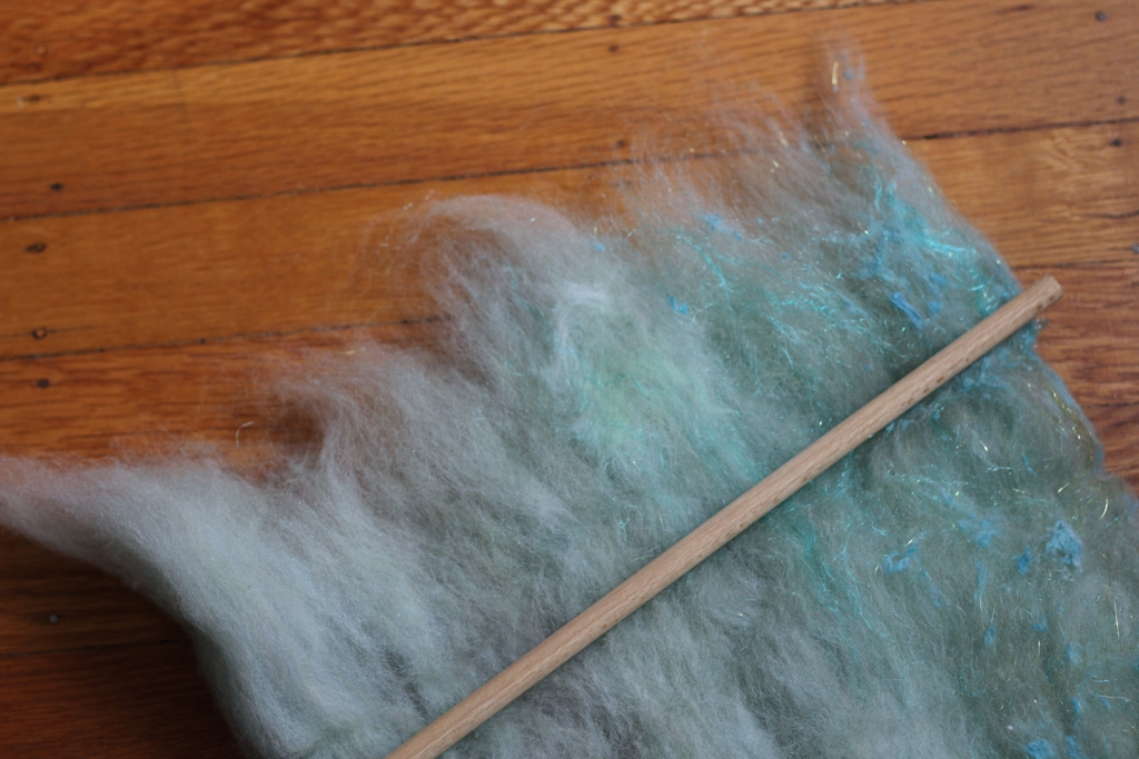 How t  o Make and Spin Fauxlags | withwool.com