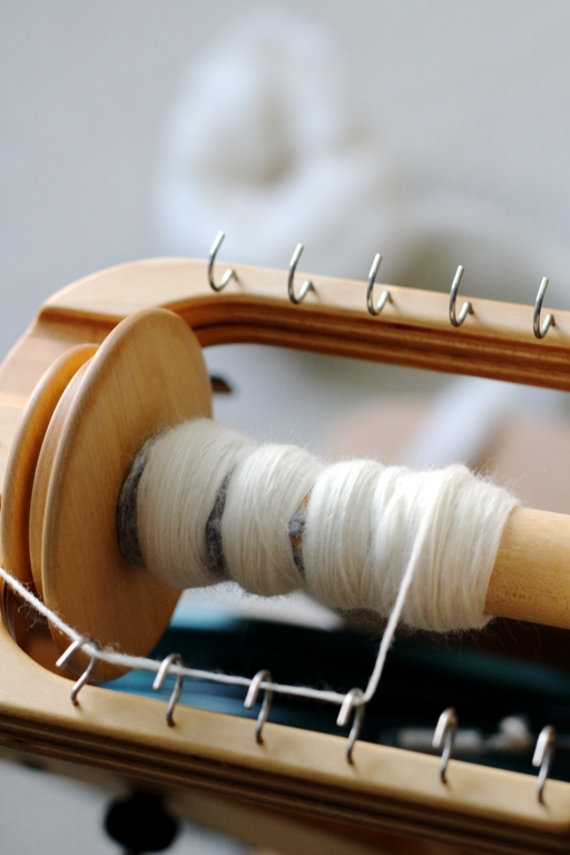 I'm spinning my first skein of 100% cashmere, and it's not as difficult as all my reading made it out to be. Don't let the fear of messing up hold you back.