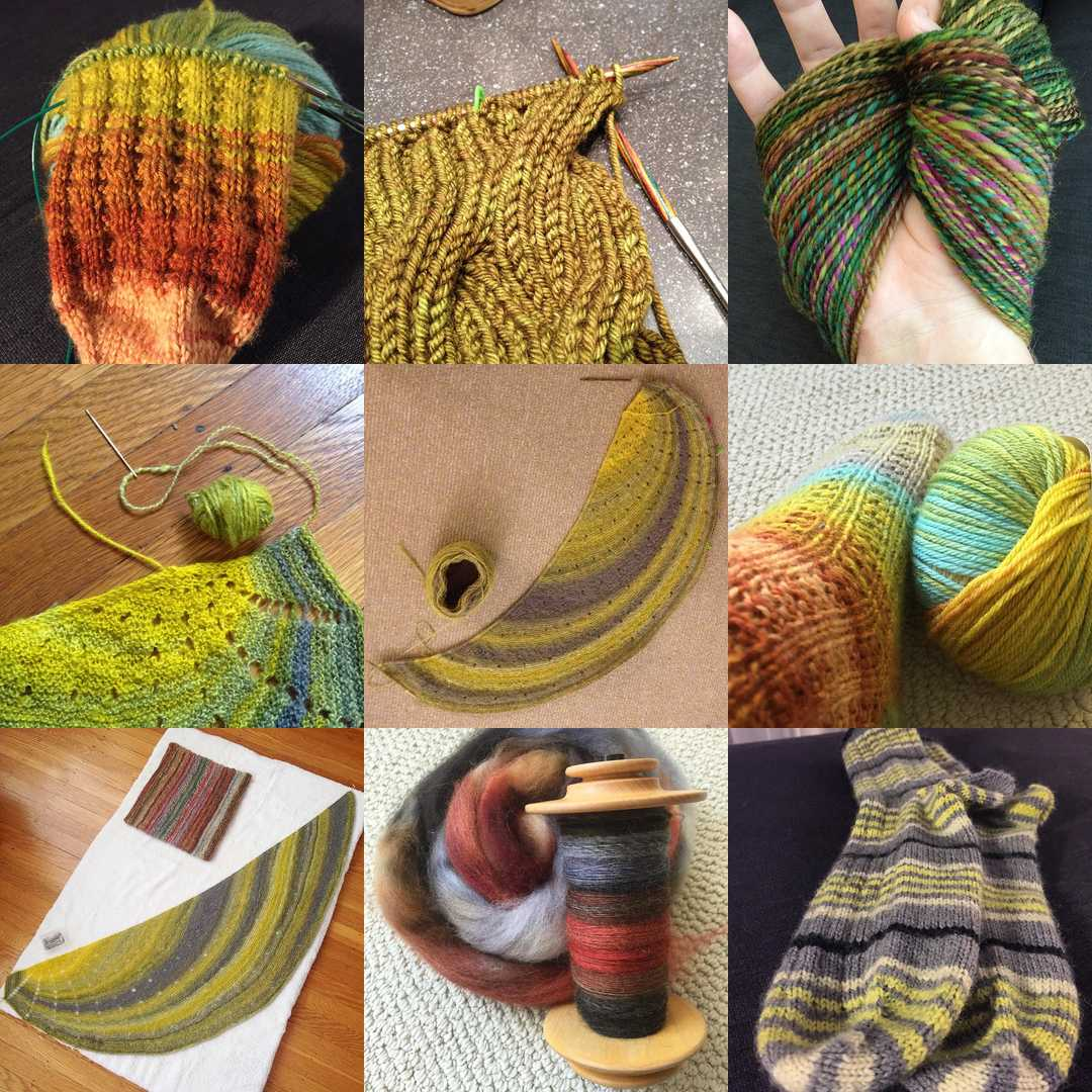 #yearofmaking was success! I made something on 352 days of 2015. Looking Back At 2015 - withwool.com