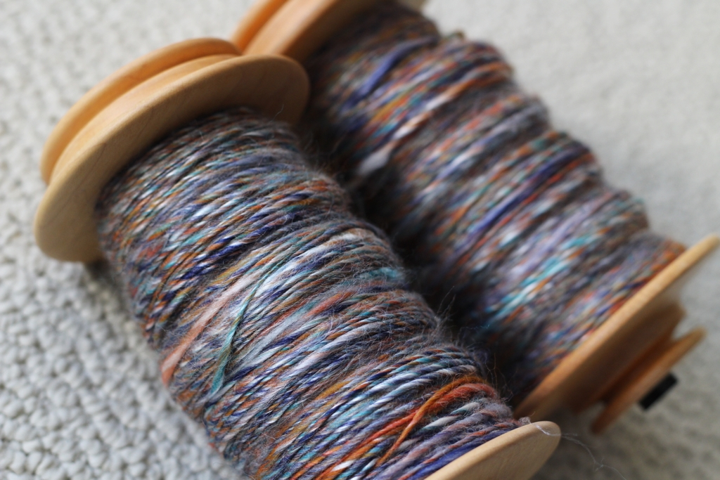 The First Handspun of 2016 - withwool.com