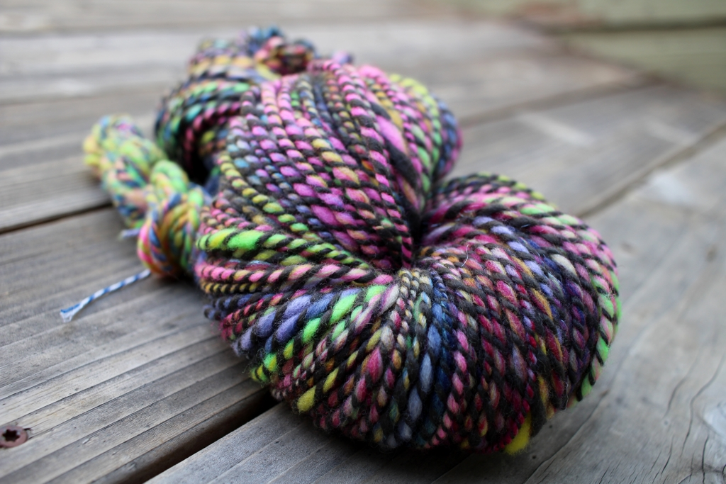 I finished plying the last of my handspun and set the twist the week after the Tour ended. Now I'm Really Finished With Tour de Fleece | withwool.com
