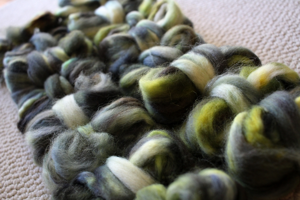 Spinning something new for the joy of it, and not worrying about yardage. | withwool.com