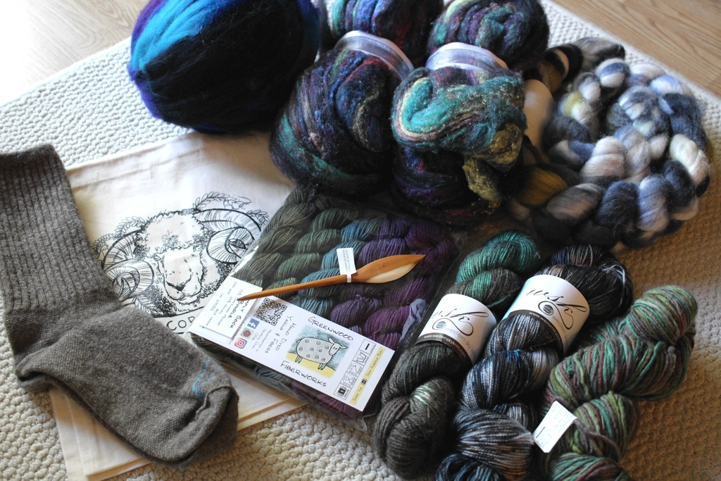 I had a blast at Interweave Yarn Fest 2017, and came home with some great goodies for the stash. |    withwool.com