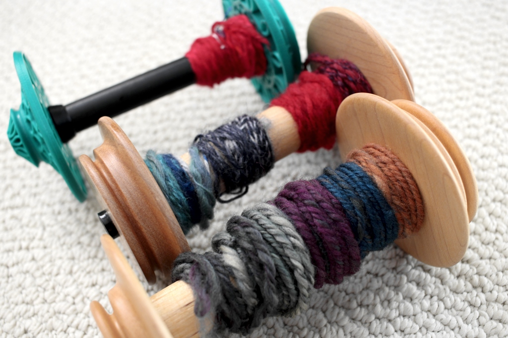 I took a class with Maggie Casey and have new tools on how to manipulate and work colors for handspun yarn. | withwool.com