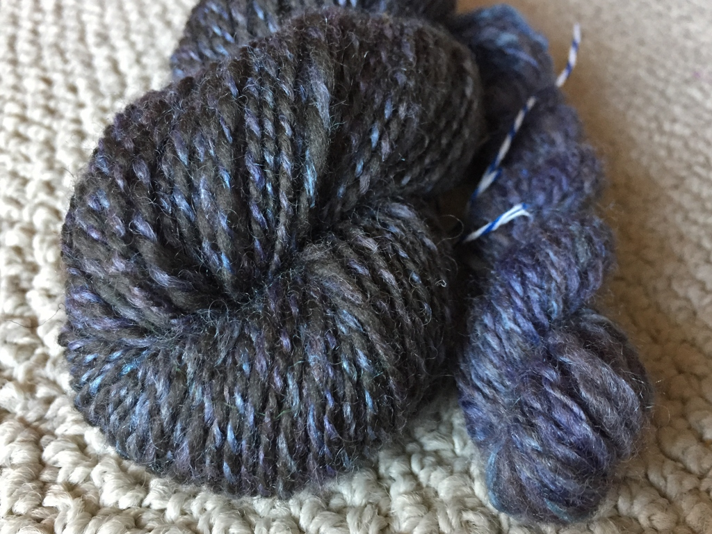 You can spin yarn for a specific project and spin just to spin. Doing both gets you great yarn and new ideas.   withwool.com