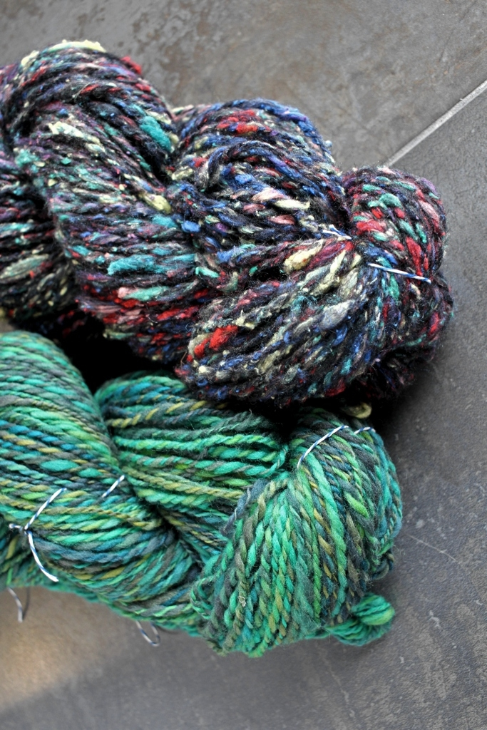 12.2 ounces, 418 yards, and 3 weeks of awesome yarn! I had a blast spinning along with Tour de Fleece this year!   withwool.com