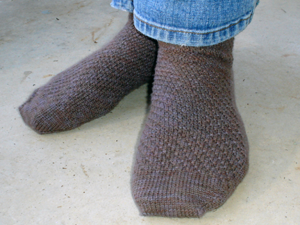 Diagonal Socks