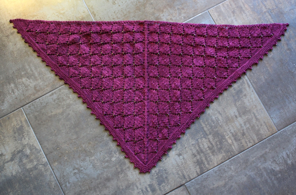 Scarves, hats, shawls, and socks - 2017 saw a lot of gift knitting.   withwool.com