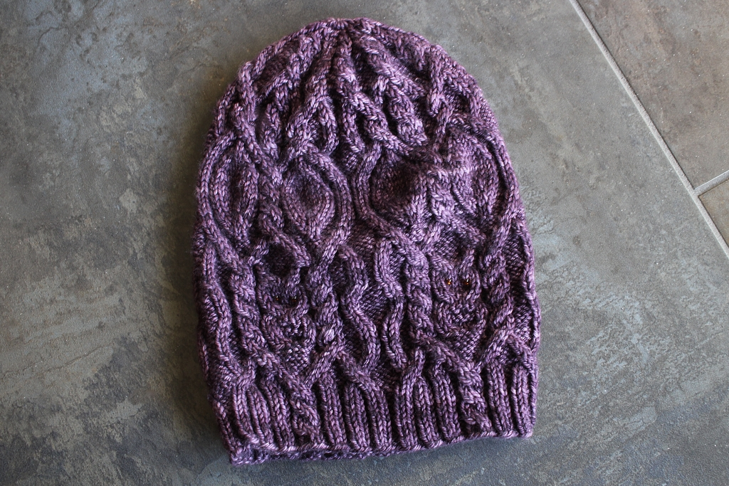How to block a slouchy knitted hat the easy way! | How To Block A Slouchy Hat - withwool.com