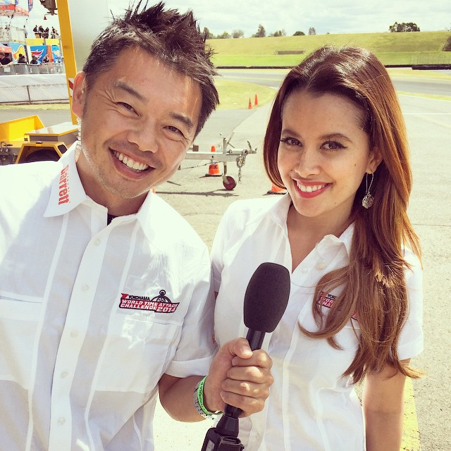 Toshi Hayama and Annette Melton WTAC Hosts