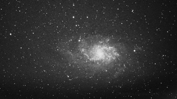 Pinwheel Galaxy - by C. Purdy 12-13-12