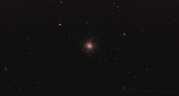 M13 Widefield (Includes NGC 6207) taken 7-10-13