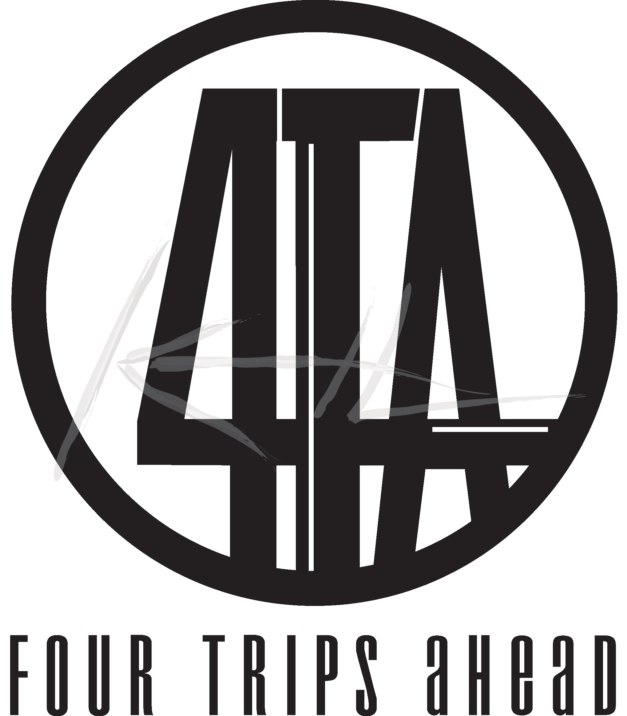 Four Trips Ahead (Logo)