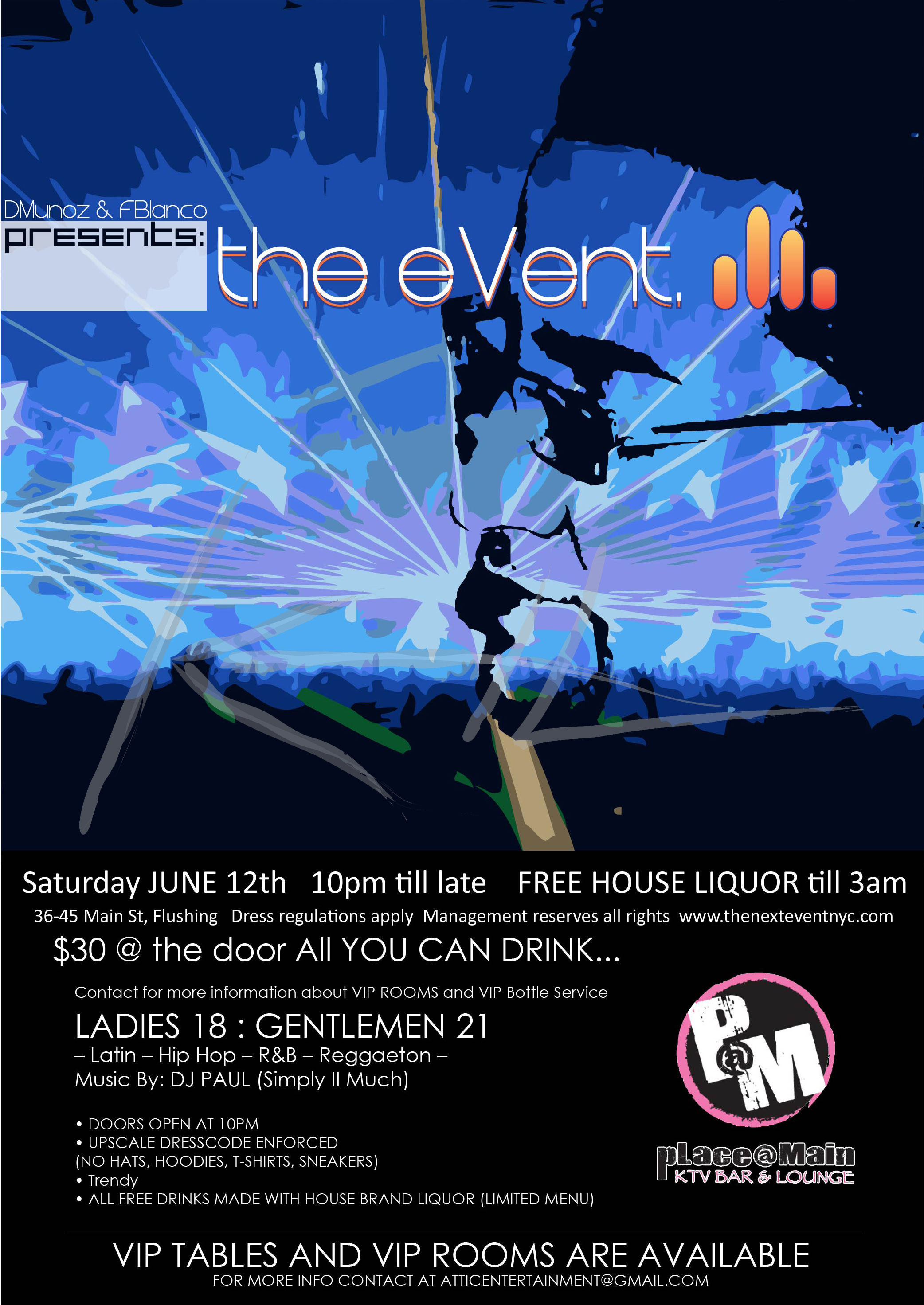 the eVent Flyer (Front)