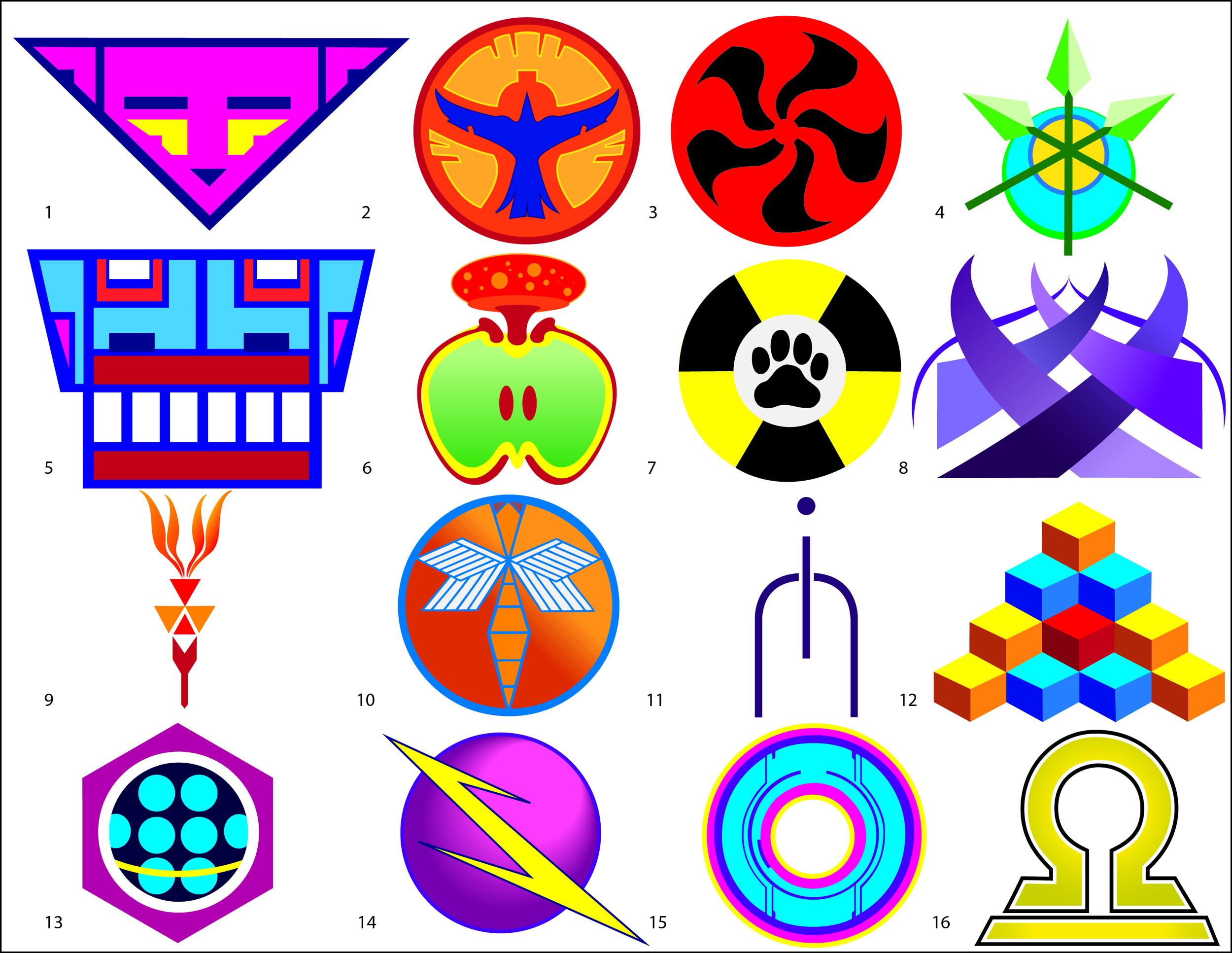 """Dragonfly"" Emblems"